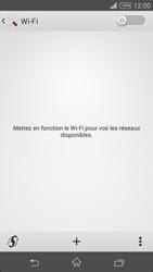 Sony D6603 Xperia Z3 - Wifi - configuration manuelle - Étape 4