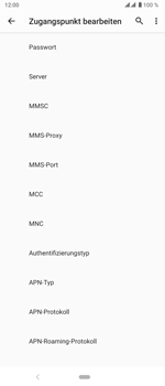 Sony Xperia 5 - MMS - Manuelle Konfiguration - Schritt 15