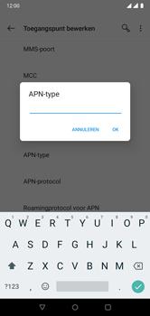 OnePlus 6 - Internet - Handmatig instellen - Stap 14
