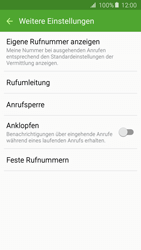 Samsung G903F Galaxy S5 Neo - Anrufe - Rufumleitungen setzen und löschen - Schritt 7