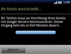 Sony Ericsson Xperia X10 Mini Pro - Apps - Konto anlegen und einrichten - 16 / 19