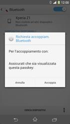 Sony Xperia Z1 - Bluetooth - Collegamento dei dispositivi - Fase 7