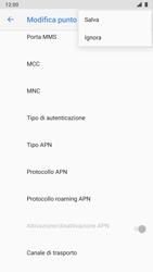 Nokia 8 - Android Pie - MMS - Configurazione manuale - Fase 16
