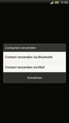 HTC S720e One X - contacten, foto