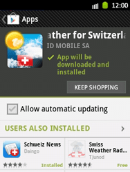 Samsung Galaxy Pocket - Applications - Installing applications - Step 16