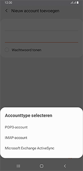 Samsung galaxy-a6-plus-sm-a605fn-ds-android-pie - E-mail - Account instellen (IMAP zonder SMTP-verificatie) - Stap 9