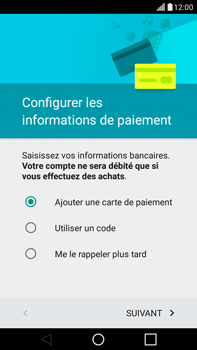 LG H365 G4 Stylus - Applications - configuration de votre store d