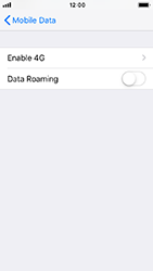Apple iPhone 5s - iOS 12 - Internet - Disable data roaming - Step 6
