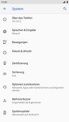 Nokia 8 - Android Pie - Gerät - Zurücksetzen auf die Werkseinstellungen - Schritt 6