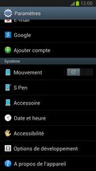 Samsung Galaxy Note II - Logiciels - Installation de mises à jour - Étape 5
