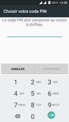 Crosscall Trekker M1 Core - Sécuriser votre mobile - Personnaliser le code PIN de votre carte SIM - Étape 9