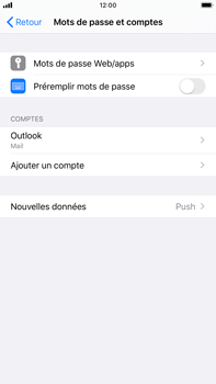 Apple iPhone 8 Plus - iOS 13 - E-mail - 032c. Email wizard - Outlook - Étape 9