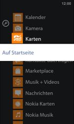 Nokia Lumia 800 / Lumia 900 - Startanleitung - Personalisieren der Startseite - Schritt 4
