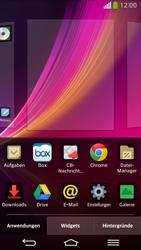 LG D955 G Flex - Startanleitung - Installieren von Widgets und Apps auf der Startseite - Schritt 4