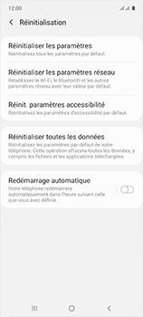 Samsung Galaxy A51 - Téléphone mobile - Réinitialisation de la configuration d