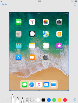Apple iPad mini 3 - iOS 11 - Bildschirmfotos erstellen und sofort bearbeiten - 5 / 8