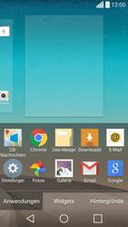 LG Spirit 4G - Startanleitung - Installieren von Widgets und Apps auf der Startseite - Schritt 4
