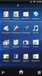 Sony Xperia Arc - E-mail - E-mails verzenden - Stap 3