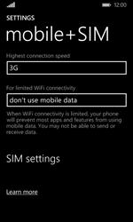Microsoft Lumia 435 - Network - Change networkmode - Step 6