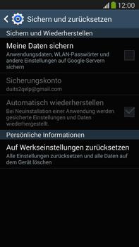 Samsung Galaxy Note 3 LTE - Fehlerbehebung - Handy zurücksetzen - 1 / 1