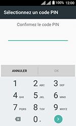 Alcatel U3 - Sécuriser votre mobile - Activer le code de verrouillage - Étape 9