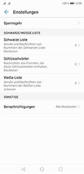Huawei P20 Pro - Anrufe - Anrufe blockieren - 6 / 12