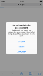 Apple iPhone 6 (iOS 10) - internet - hoe te internetten - stap 4