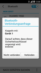Huawei Ascend Y550 - Bluetooth - Geräte koppeln - Schritt 8
