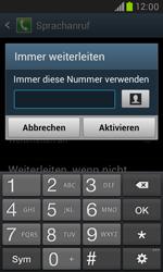 Samsung I8190 Galaxy S3 Mini - Anrufe - Rufumleitungen setzen und löschen - Schritt 8