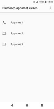 Sony Xperia XZ2 - Contactgegevens overzetten - delen via Bluetooth - Stap 9