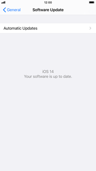 Apple iPhone 8 Plus - iOS 14 - Software - Installing software updates - Step 6