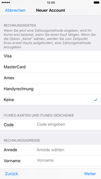Apple iPhone 7 Plus - Apps - Konto anlegen und einrichten - 1 / 1