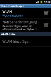 Samsung S5830 Galaxy Ace - WLAN - Manuelle Konfiguration - Schritt 6
