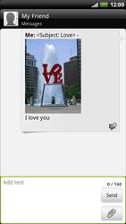 HTC X515m EVO 3D - MMS - Sending pictures - Step 12