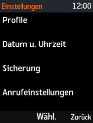 Nokia 3310 - Anrufe - Rufumleitungen setzen und löschen - 4 / 12