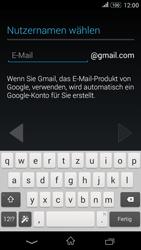 Sony Xperia E4G - Apps - Konto anlegen und einrichten - 7 / 18