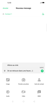 Oppo Find X2 Pro - Contact, Appels, SMS/MMS - Envoyer un MMS - Étape 14