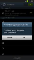 Samsung Galaxy Note II - Bluetooth - Jumelage d