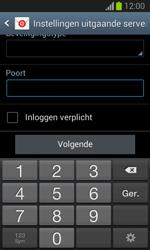 Samsung S7390 Galaxy Trend Lite - e-mail - handmatig instellen - stap 14