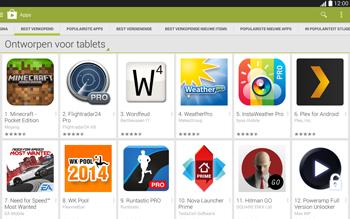 Samsung Galaxy Tab4 10.1 4G (SM-T535) - Applicaties - Downloaden - Stap 7
