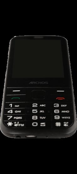 Archos F28 - Premiers pas - Découvrir les touches principales - Étape 4