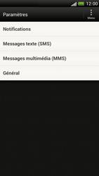 HTC Z520e One S - SMS - Configuration manuelle - Étape 4