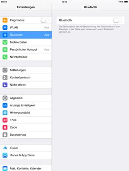 Apple iPad mini - iOS 8 - Bluetooth - Verbinden von Geräten - Schritt 6