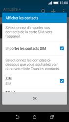HTC Desire 510 - Contact, Appels, SMS/MMS - Ajouter un contact - Étape 4