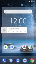 Nokia 8 - Operazioni iniziali - Installazione di widget e applicazioni nella schermata iniziale - Fase 7
