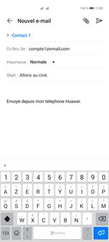 Huawei P40 Pro - E-mails - Envoyer un e-mail - Étape 8
