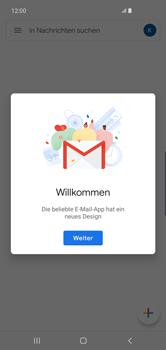 Samsung Galaxy S10 Plus - E-Mail - Konto einrichten (gmail) - Schritt 14