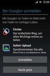 Sony Xperia E - Apps - Konto anlegen und einrichten - 12 / 17