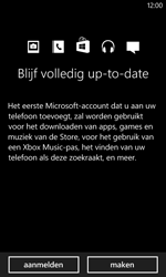Nokia Lumia 625 - Applicaties - Account aanmaken - Stap 11