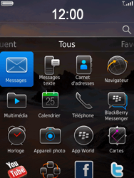 BlackBerry 9800 Torch - MMS - Envoi d